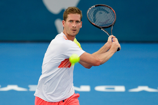 Mayer will be looking to defeat Nadal for the second time on hard courts (Photo by Brett Hemmings / Getty Images)