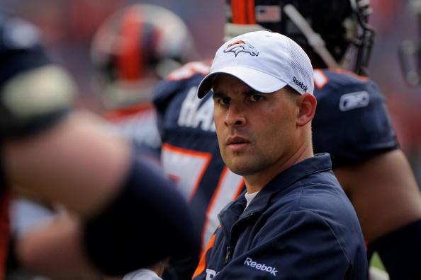Josh em passagem fraca nos Broncos (Foto: Doug Pensinger/Getty Images)