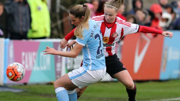 Abbie McManus has been a regular fixture in Manchester City's side. | Image: FA