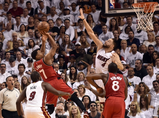 Defense was key to the Miami Heat's win. (Photo: Steve Mitchell, USA Today Sports)