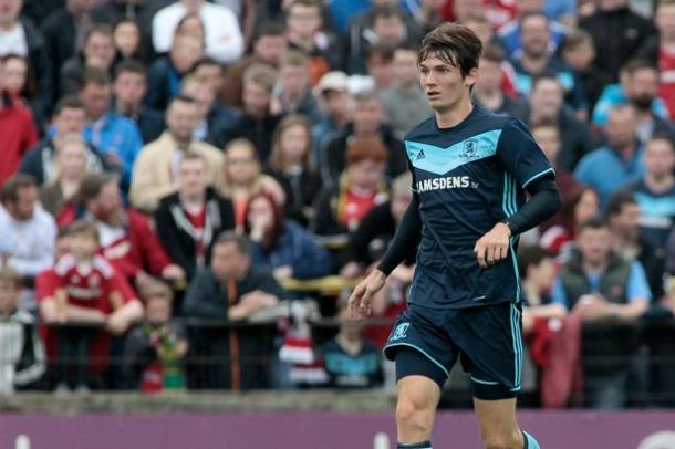 Marten de Roon in pre-season action for Middlesbrough | Photo: Gazette