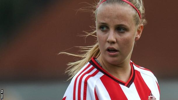 Despite good performances for Sunderland, Beth Mead hasn't been called up (photo: The FA)
