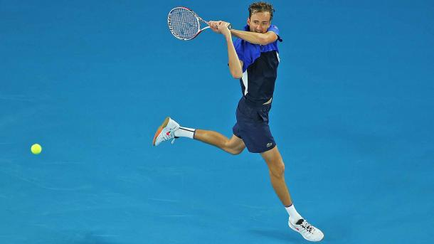 Medvedev continued his fine form from mid-2019 into the start of this year/Photo: Cameron Spencer/Getty Images