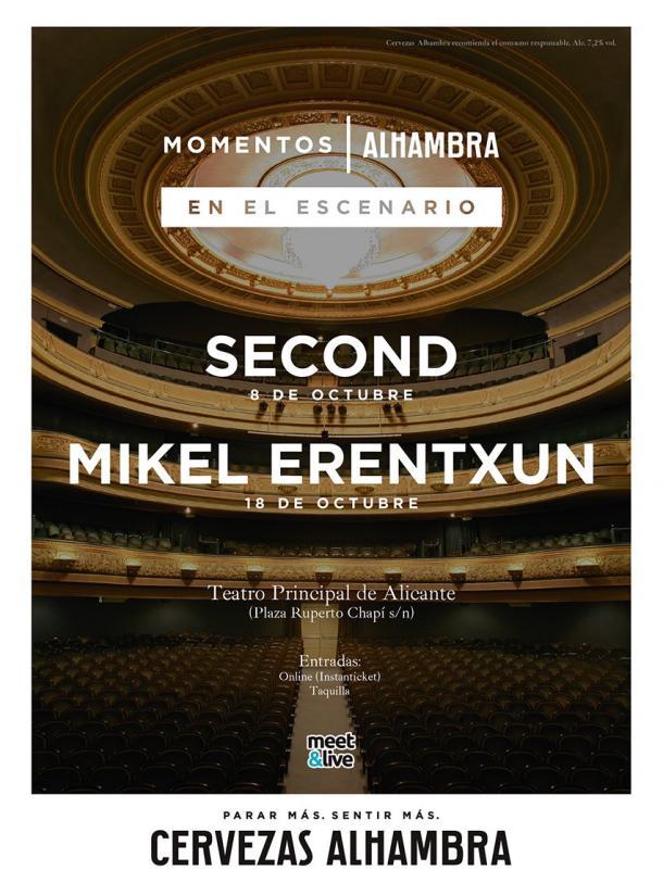 Mikel Erentxun también actuará a los diez días en el mismo tipo de concierto | Foto: Meet & Live