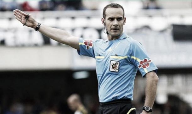 Mario Melero López durante un partido | Foto: RFEF