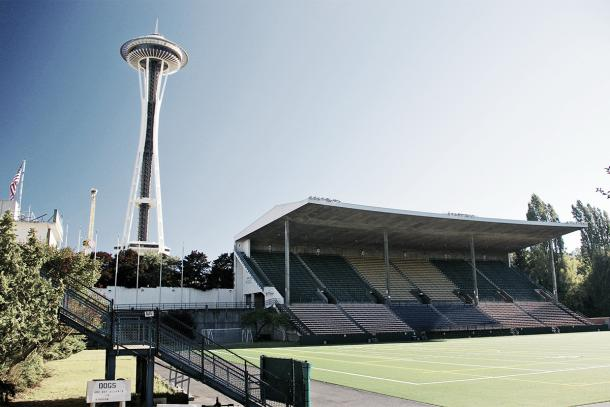 Seattle will have to defend home field if they want to beat the visiting North Carolina Courage (photo via equalizersoccer.com)