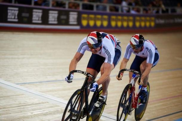 The men's team sprint team squad has struggled to replace Sir Chris Hoy. | Photo: Luke Webber/Revolution Series