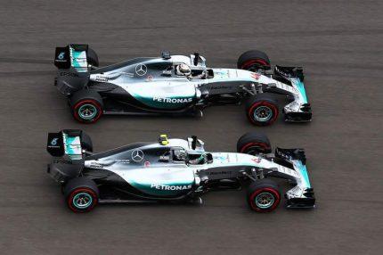 Mercedes dominó el año 2016 | Fuente: Wikipedia