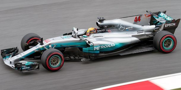 Lewis Hamilton con Mercedes en 2017 | Fuente: Wikipedia