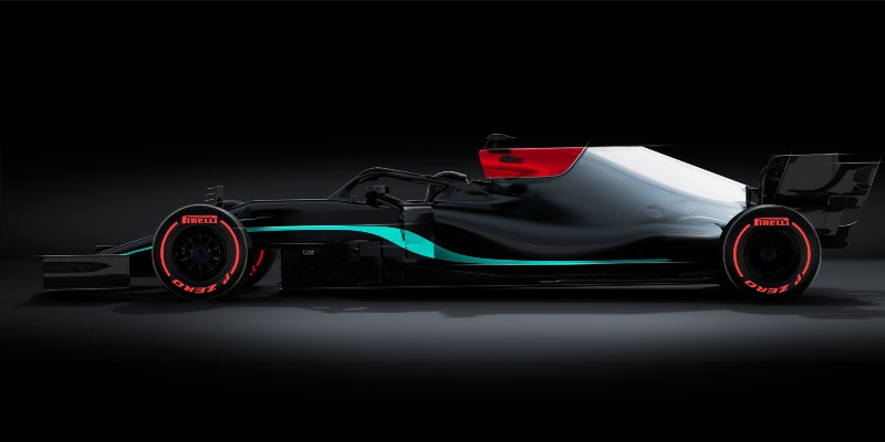 Teaser presentado por Mercedes. Foto: Twitter Mercedes