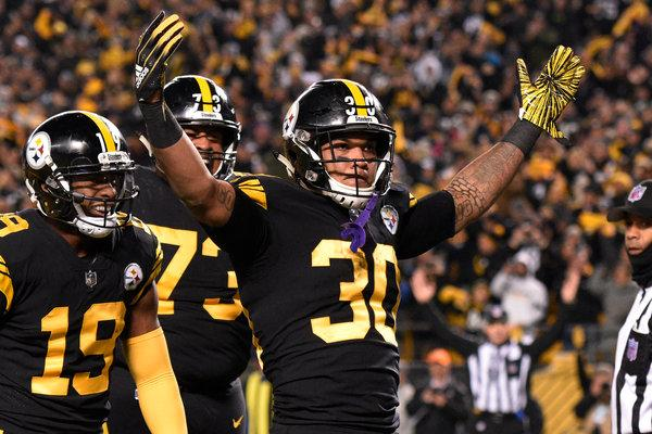 James Conner's performances have eased the Steelers' position | Source: Don Wright-Associated Press