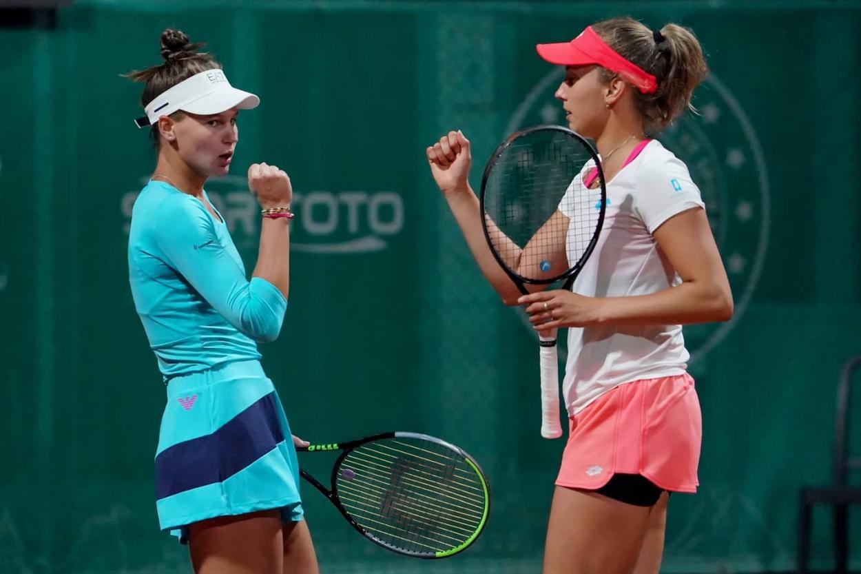 Kudermetova e Mertens vão em busca do título de duplas (Foto: Divulgação/Tennis Championships Istanbul)