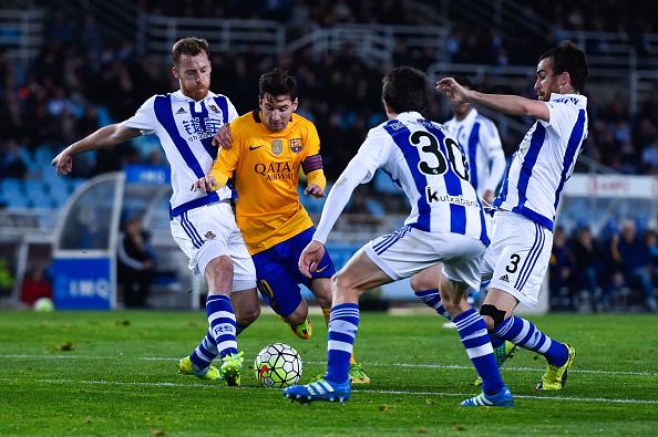 Messi sofreu mais uma vez e não saiu vencedor (Foto: David Ramos/Getty Images)