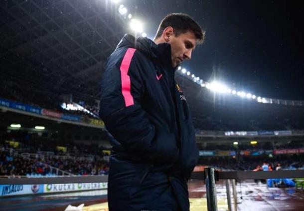 Messi el año pasado en Anoeta I Fuente: images.performgroup.es