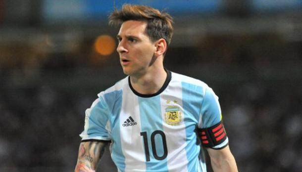 Captain Lionel Messi looking to lead Argentina to international glory for the first time since 1993. Photo: Clarin