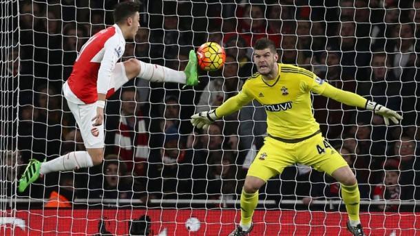 Forster had a good season for Southampton last season, making this setback even harder to take. Photo: SkySports