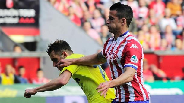 Hernandez played 36 times for Sporting Gijon last season (Photo: Getty Images)