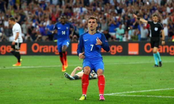 Man in form, Antoine Griezmann. | Source: Metro