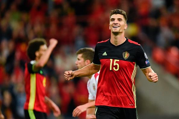 Meunier foi o grande destaque da partida (Foto: AFP/JOHN THYS)