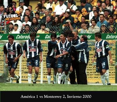 Festejo de Monterrey con Benito Floro  | Foto: Futbol Neurona