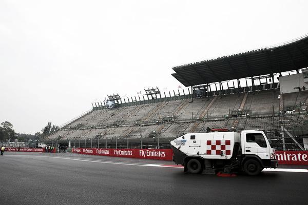 Obras en el Autódromo Hermanos Rodríguez | Fuente: Getty Images