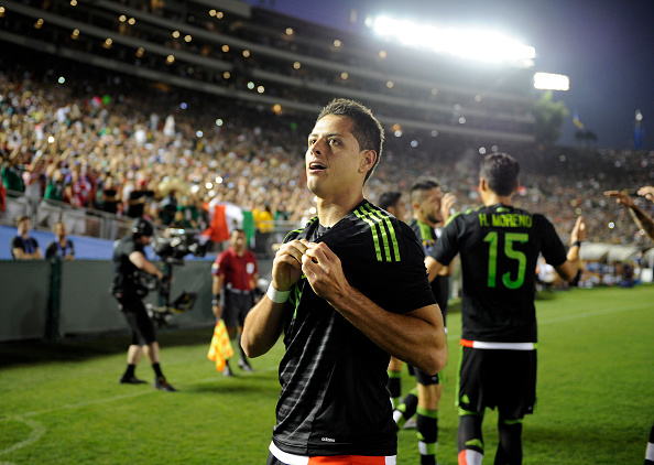 Javier Hernández will look to get in amongst the goals tomorrow | Source: