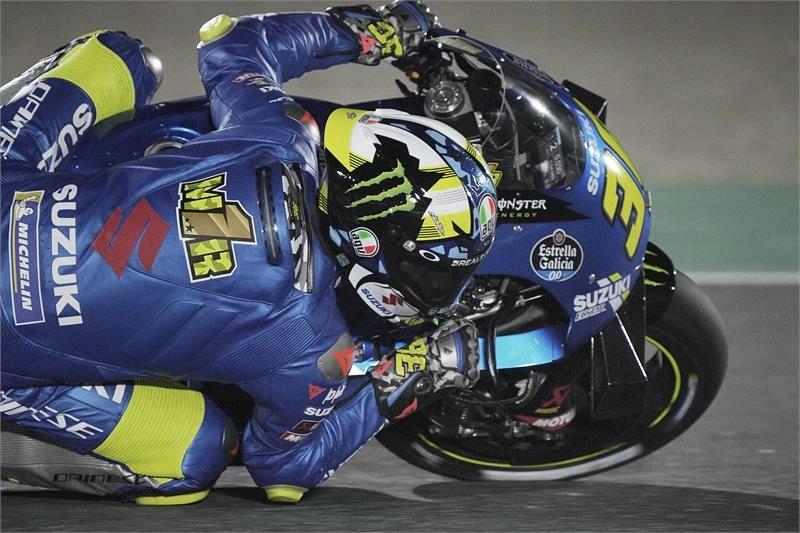 Joan Mir, Suzuki Ecstar / Fuente: Suzuki Racing