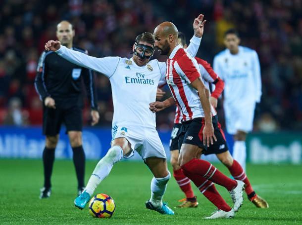 Capitão merengue foi expulso | Foto: Juan Manuel Serrano Arce/Getty Images