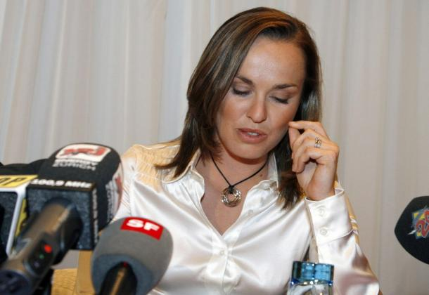 Hingis announced her failed test in a similar way to Sharapova (Pic | Associated Press)