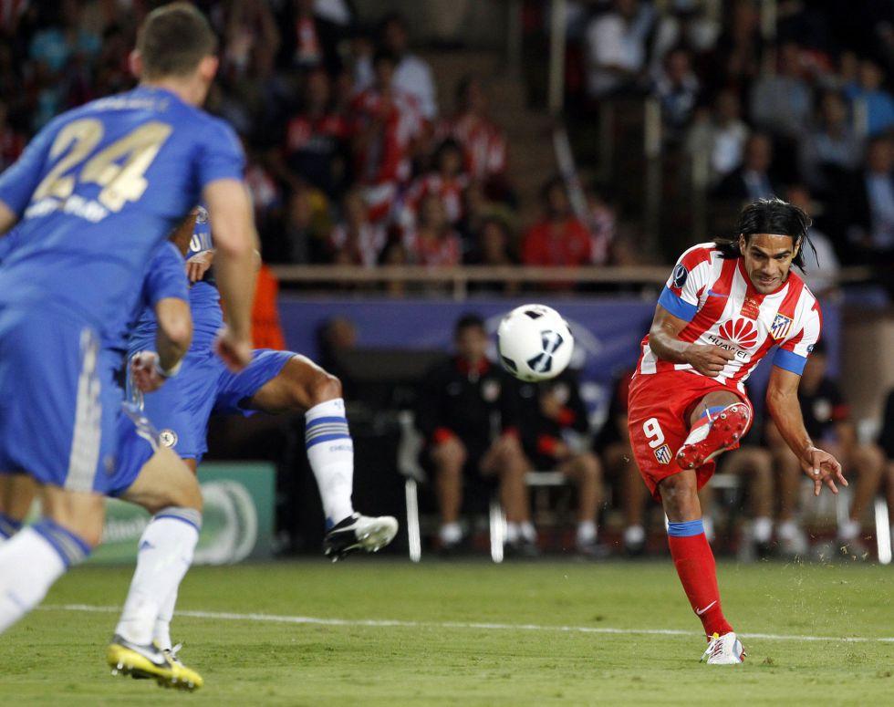 Gol de Falcao. Foto: Tokyvideo.com