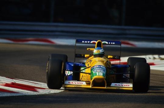 Michael en 1991 a manos del Benetton-Jordan / Fuente: michaelschumacher.de