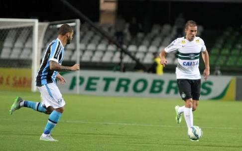 Michel quando atuava pelo Coritiba (Foto: Reprodução / Site Oficial São Luiz)