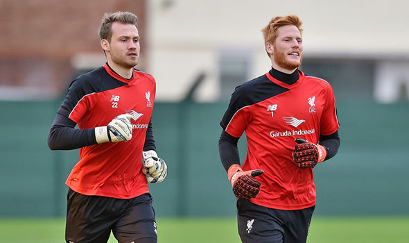 Mignolet hasn't really had any real competition for his spot since signing (photo: Getty Images)