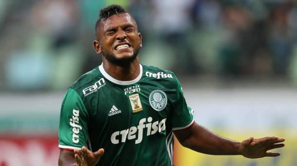 Miguel Ángel Borja / FOTO: Palmeiras