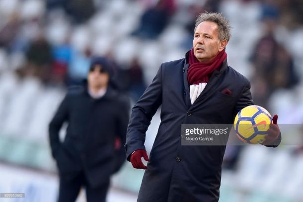 Mihajlovic en el partido frente al Genoa / Foto: gettyimages