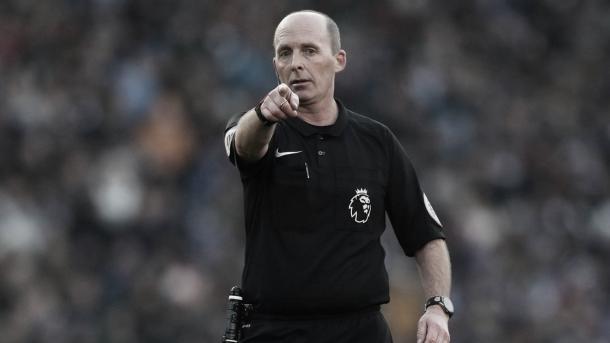 Mike Dean./ Foto: Premier League