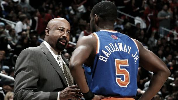 Woodson en su época de entrenador de los Knicks / Getty Images