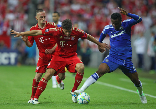 John Obi Mikel was outstanding in the 2012 Champions League Final. (Source: Alex Livesey/Getty Images)
