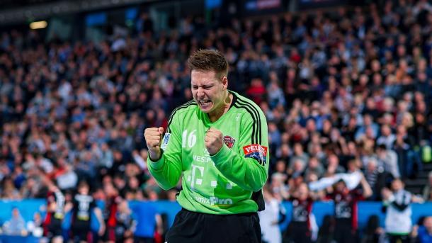 Roland Mikler en un partido de la presente temporada. Foto: Telekom Veszprém