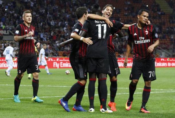 I giocatori del Milan - gazzetta.it