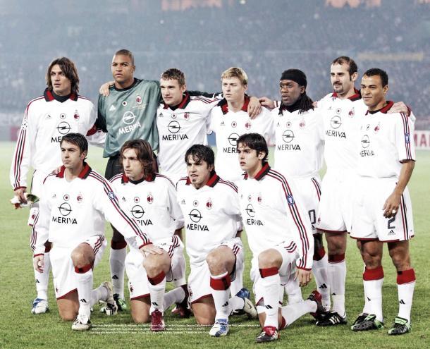 Plantilla AC Milan 2003