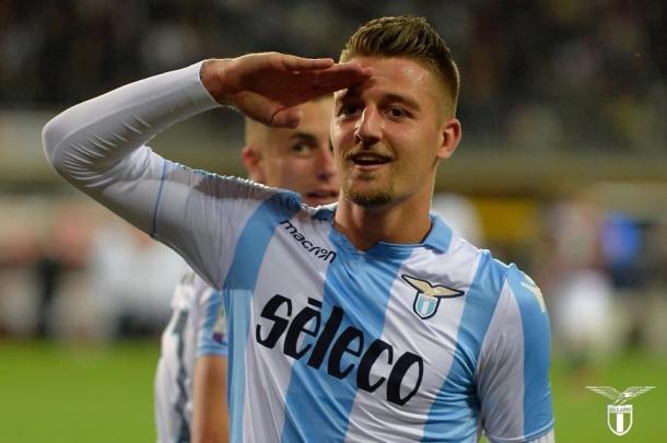 Assediado no mercado, Milinkovic-Savic permanece na Lazio e é uma das estrelas da Serie A nesta temporada. Foto: Divulgação/Lazio