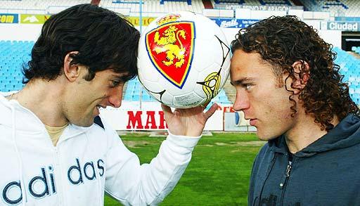 Hermanos Milito. Fuente: Real Zaragoza