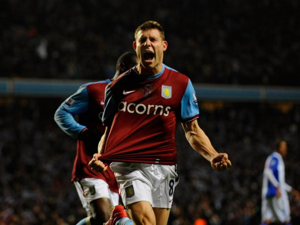 Milner played for Villa the last time they met Wycombe (photo: getty)
