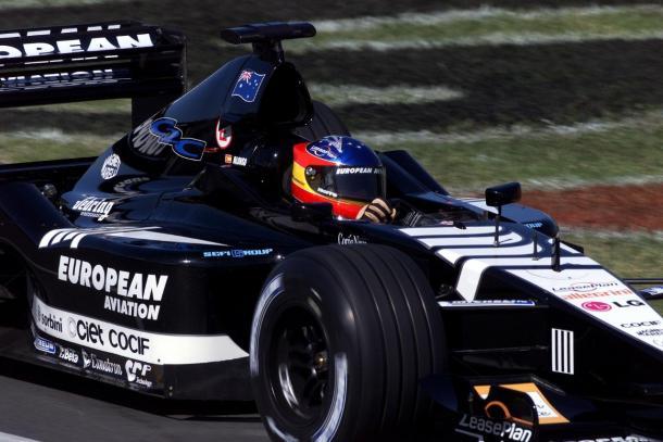 Alonso en el GP de Australia 2001 | Foto: Fórmula 1