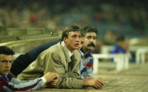 Johan Cruyff en el Camp Nou. | Foto: FC Barcelona
