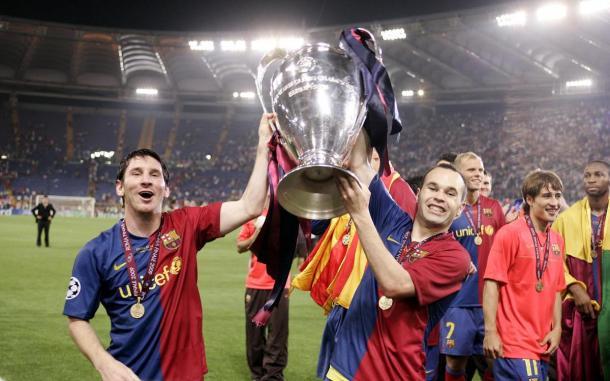 La Champions de 2009, clave para el reconocimiento de Leo. FOTO: FC Barcelona