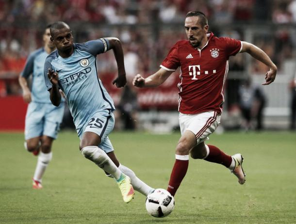 City were narrowly beaten in Munich last time out (photo source: Mirror.co.uk)