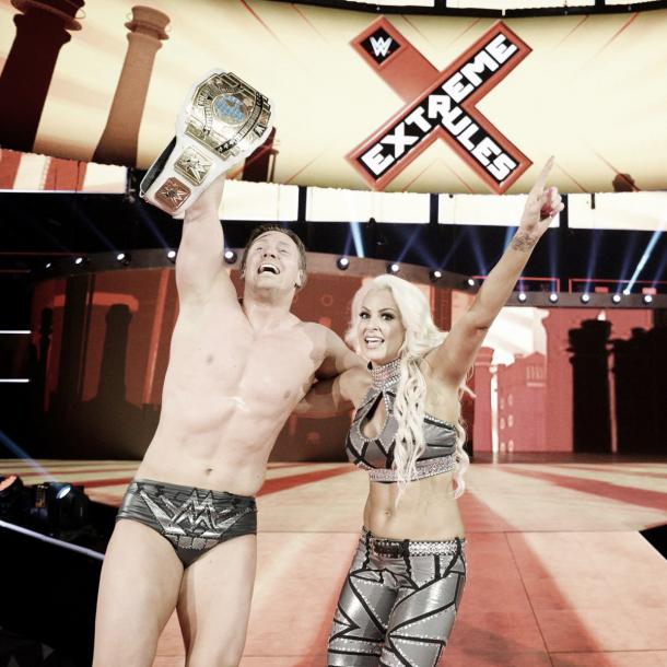 The It Couple are on top again. Photo- WWE.com