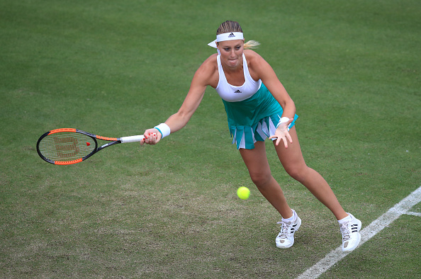 Spirited Kvitova Stuns Barty To Claim Birmingham Title